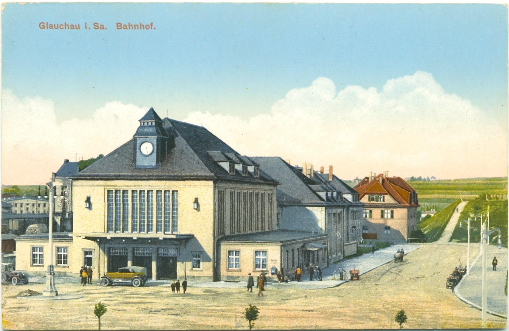 Bahnhof Glauchau